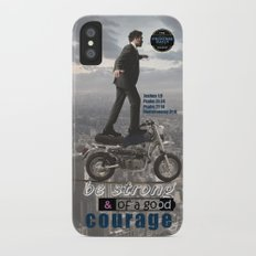 Have Courage Slim Case iPhone X