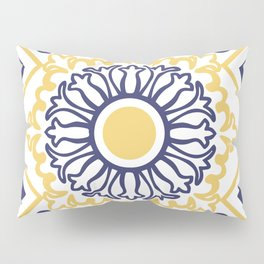Azulejo Portugues 7 Pillow Sham
