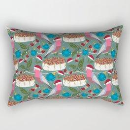 Christmas Australian Gallah Parrot Rectangular Pillow