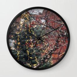 Portland Christmas Wall Clock
