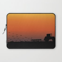 Ploughing the Field Laptop Sleeve