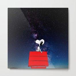 Snoopy Galaxy Nebula Metal Print