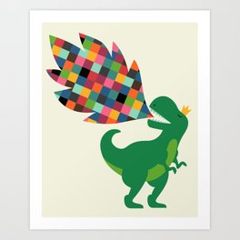 Rainbow Power Art Print