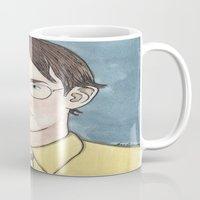dwight schrute Mugs featuring Bears. Beets. Battlestar Galactica.   by Jillinois
