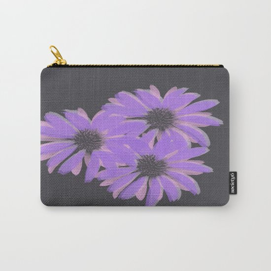 Painterly Floral Trio Carry-All Pouch