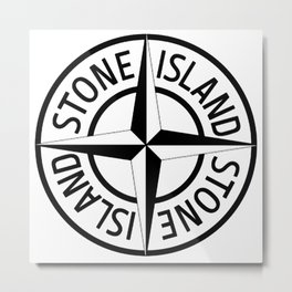 stone island Metal Print