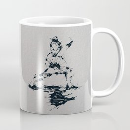 Splaaash Series - Lan Lan Ink Coffee Mug