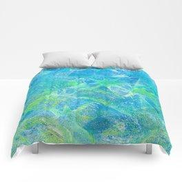 Gelatin Monoprint 6 Comforters