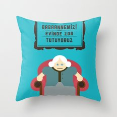 Babaanne Throw Pillow