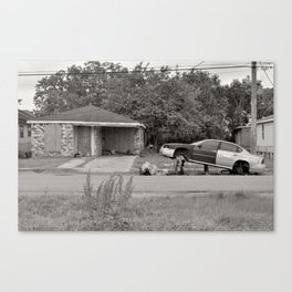 Lower 9th Ward - New Orleans, Louisiana Canvas Print