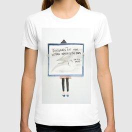 Dinorsaurs Eat Man, Jurassic park T-shirt
