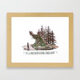 Ellie's birthday - The Last of Us Part II - Fan art Framed Art Print
