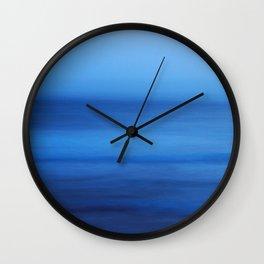 Ocean Blue Wall Clock