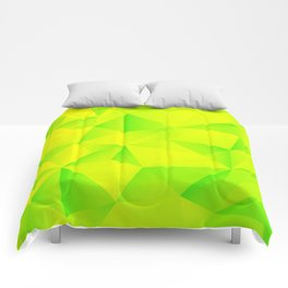Geometry Lime Extraction Comforters