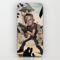 resident evil iPhone & iPod Skins featuring Resident Evil 4 by Max Grecke