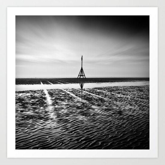 Lines In The Sand Art Print