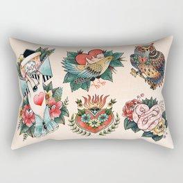 Tattoos of Love Rectangular Pillow