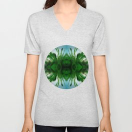Abstract Visions Unisex V-Neck