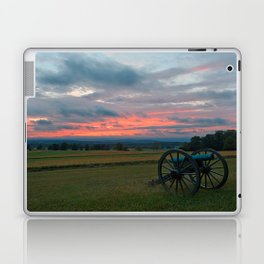 Gettysburg Cannon Sunset Laptop & iPad Skin