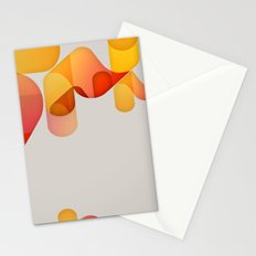 optical illusion Stationery Cards