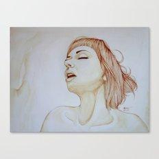 Feel like feather Canvas Print