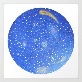 My dream´s sky - O ceu dos meus sonhos Art Print