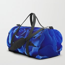 Blue Roses Flowers Plant Romance Duffle Bag