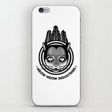 Meow Meow Industries iPhone & iPod Skin