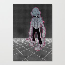 Lazer Knight Canvas Print