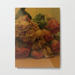 wilted flowers Metal Print