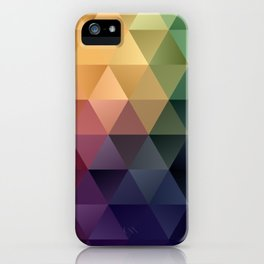 Vintage Coloration iPhone Case