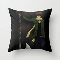 hetalia Throw Pillows featuring It's worth it  by Manos-Art