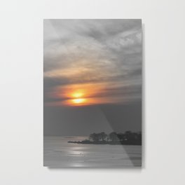 Sunrise with a hint of sun Metal Print
