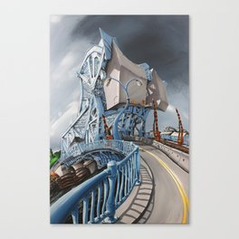 Johnson Street Bridge Canvas Print