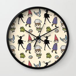 OTGW Pattern Wall Clock