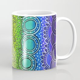 Rainbow Doodle Coffee Mug