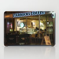 starbucks iPad Cases featuring Starbucks by VAWART