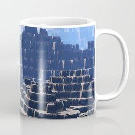 Mysterious Terraced Mountains Coffee Mug