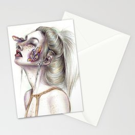 The Infected Stationery Cards