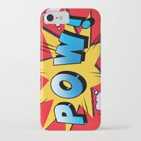 superheroes iPhone & iPod Cases featuring superheroes by mark ashkenazi