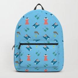 Edward Pattern Backpack