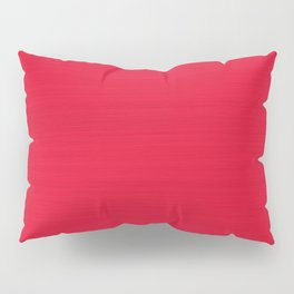 Juicy Red Apple Brush Texture Pillow Sham