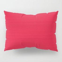 Juicy Red Apple Brush Texture Pillow Sham
