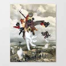 MINGA x Let There Be Light Canvas Print