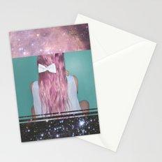 Nebula Girl Stationery Cards
