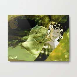 DUCKBOY under sea Metal Print