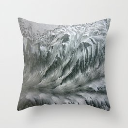 Ice Breaker Waves Throw Pillow