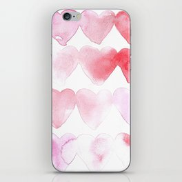 Abstract Hearts iPhone Skin