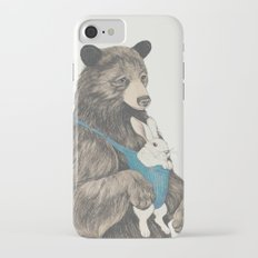 the bear au pair iPhone 7 Slim Case