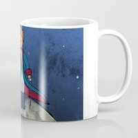 the little prince Mugs featuring Little Prince by Anais.Lalovi